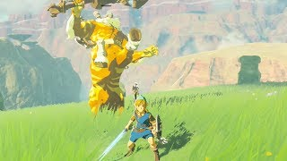 How to Kill a Gold Lynel WITHOUT Perfect Shield/Flurry Rush - Breath of the Wild