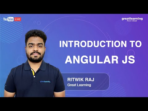 Introduction to AngularJS | Great Learning - YouTube