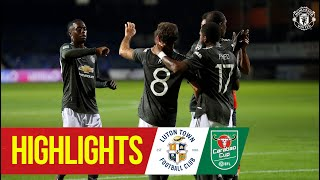Highlights | Luton 0-3 Manchester United | Mata, Rashford & Greenwood seal Carabao Cup win at Luton