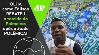"""Veja o que Edilson disse à torcida do Palmeiras após ser """"apagado"""" de time campeão"""