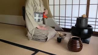 《茶道点前集》風炉・薄茶点前 Sadou [Japanese Tea Ceremony](裏千家)