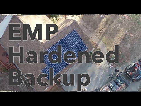 EMP Hardened Backup System