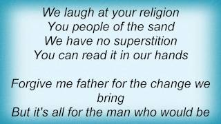 Dio - The Man Who Would Be King Lyrics