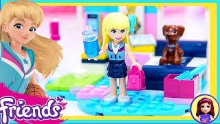 Lego Friends Stephanies Bedroom Build Review Silly Play Kids Toys