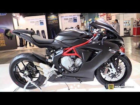 2015 MV Agusta F3 800 - Walkaround - 2014 EICMA Milano Motocycle Exhibition