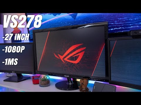 ASUS VS278 Review - Affordable 27Inch, 1080P, 1ms Monitor