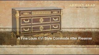 A Fine Louis XVI Style Commode