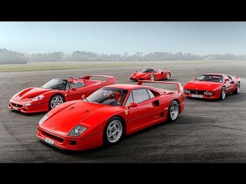 Ferrari Enzo F40 F50 & 288 GTO | Top Gear