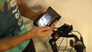 Klickfix Phone Bag + Quad adapter