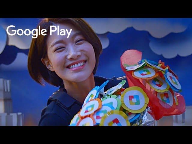 [이주우] 구글플레이 포인트 광고