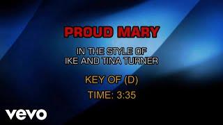Ike & Tina Turner - Proud Mary (Karaoke)