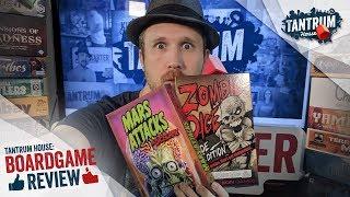 Cthulhu Dice VS Zombie Dice VS Mars Attacks the Dice Game