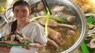 Quán miến gà Campuchia ngon nhất vùng biên