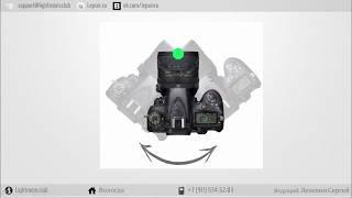 Вращение камеры при панорамной съемке