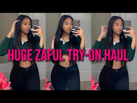 ZAFUL WINTER TRY-ON HAUL 💕