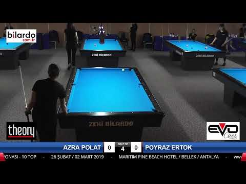 AZRA POLAT & POYRAZ ERTOK Bilardo Maçı -