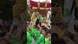 泉市長 御厨神社秋祭り