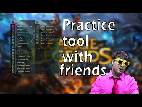 How to Use 5v5 Practice Tool in LOL (PvP