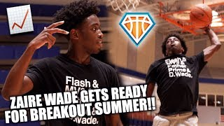 Zaire Wade INTENSE WORKOUT w/ Stan Remy!! | Son of NBA LEGEND Ready Write His OWN STORY