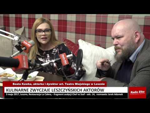 Wideo1: Beata Kawka o kulinarnych zwyczajach aktorów Teatru Miejskiego w Lesznie