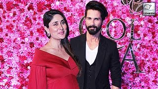 Kareena Kapoor Hugs Her Ex Shahid Kapoor At Golden Rose Awards 2016 | LehrenTV