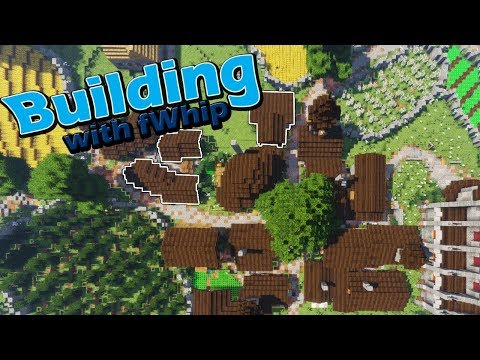 Building with fWhip :: Village house building :: #48 Minecraft 1 12  survival - fWhip