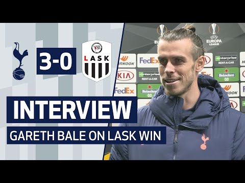 INTERVIEW | GARETH BALE ON FULL DEBUT IN LASK WIN | Spurs 3-0 LASK