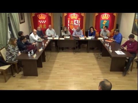 Pleno ordinario 18 de enero, a las 19.00 horas. Ayuntamiento de #Pedrezuela