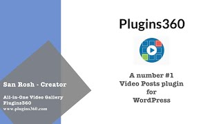 All in One Video Gallery Demo – Plugins360