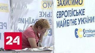 Предвыборная гонка: Зеленский ссорится с чиновниками, а Порошенко отправили на галерку - Россия 24