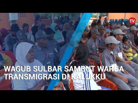 WAGUB SULBAR SAMBUT WARGA TRANSMIGRASI DI KALUKKU