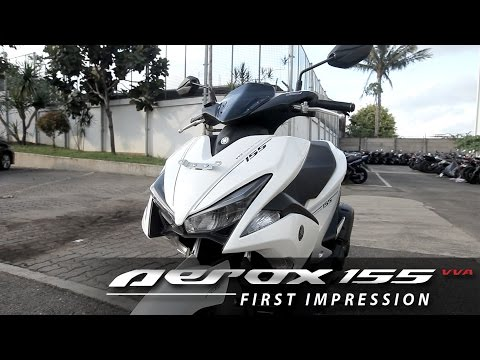 Yamaha AEROX 155 VVA S Version First Impression - Indonesia (English Subtitled) | OtoRider