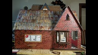Dollhouse Brick Mortar And Age Painting Tutorial