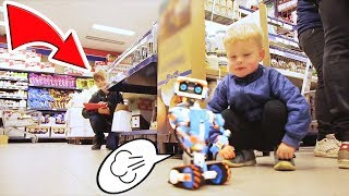 LEGO BOOST Pranks in Public! Funny and Fail Pranks with Vernie the Robot | Funny Video for Kids