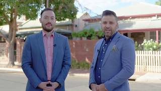 54 Second Street, Brompton with Laurie Berlingeri & Raffaele Spano - Adelaide Real Estate SA -