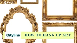 The Art Of Hanging Art