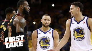 Stephen A. on Klay Thompson's free agency: I wouldn't trade him for LeBron James   First Take