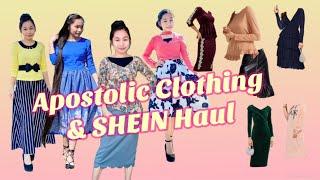 Shein & Apostolic Clothing Haul | Modest Fashion | Modest Outfits | Modest Clothing