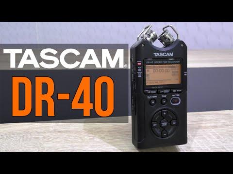 Tascam DR-40 Digital Audio Recorder Review