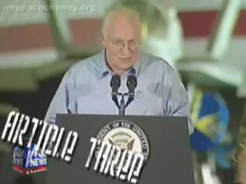Impeach dick cheney october 2007