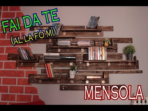 ***FAI DA TE*** Mensola con Bancali (tutorial) #RECUPERO #ZEROSPRECO  shelf with bench