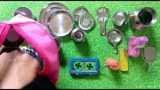Miniature kitchen things review /craft tamil