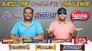 GUESS THE CHOCOLATE CHALLENGE   Chocolate Challenge   Food Challenge