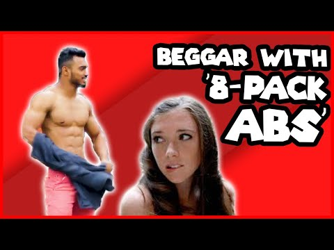 BEGGAR With '8-Pack Abs' PRANK 🔥 |PRANK IN INDIA