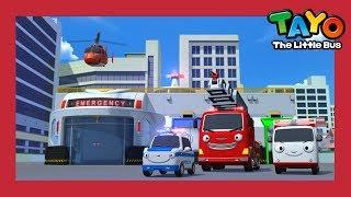 Tayo S4 E1-5 l El nuevo centro de emergencias y más l Tayo el pequeño Autobús