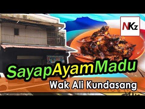Rehat Makan Di Sayap Ayam Madu Wak Ali Kundasang (Vlog Ringkas)