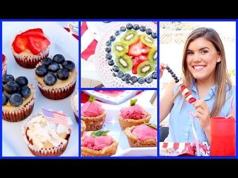Video Healthy & Yummy 4th of July Treat Ideas!