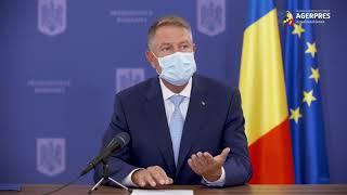 Iohannis: Ministerul Sănătăţii va stabili norme pentru votare