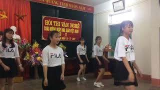 Múa Thời Học Sinh Hay Nhất 20/11-Lớp 9a- Trường THCS Đồng Du