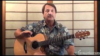C Minor Jam Acoustic Guitar Lesson - Blues